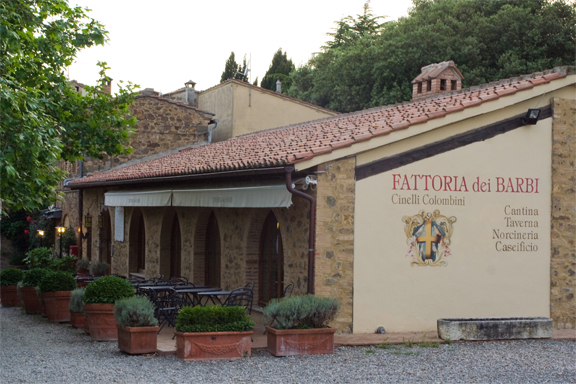 fattoria barbi winery