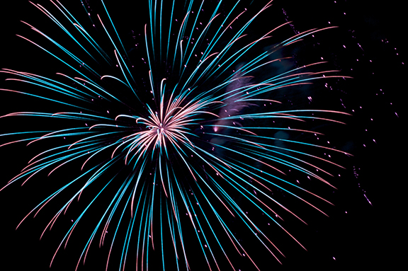 fireworks montalcino