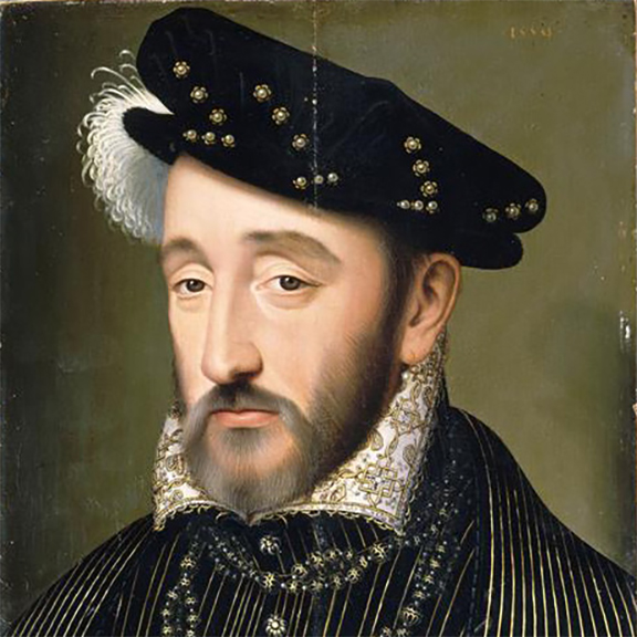henry king of france ii