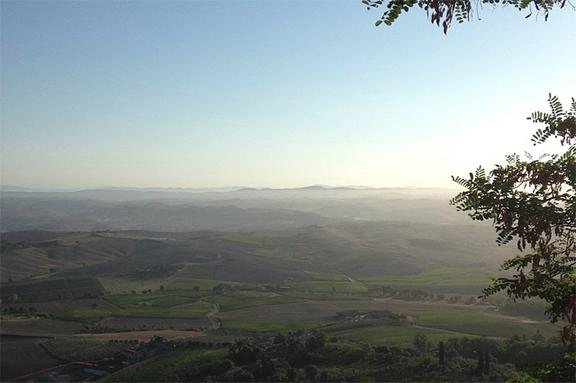 best view montalcino