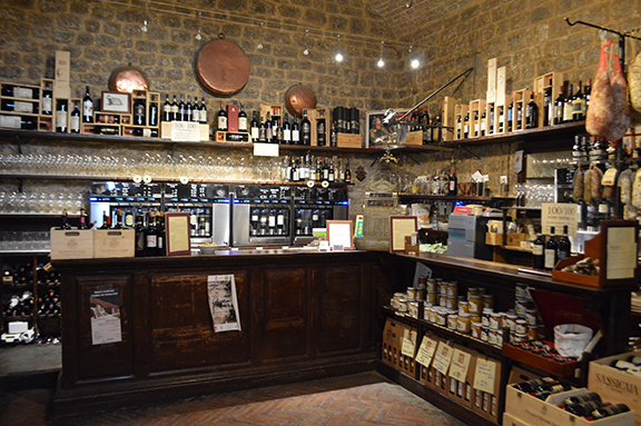 best wine shop montalcino