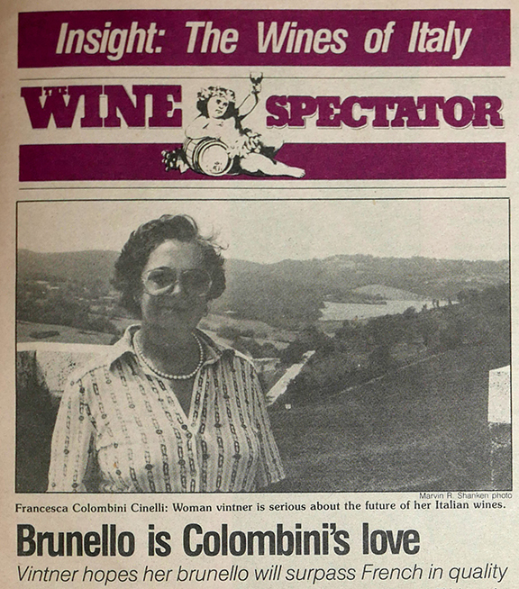 first edition wine spectator shanken