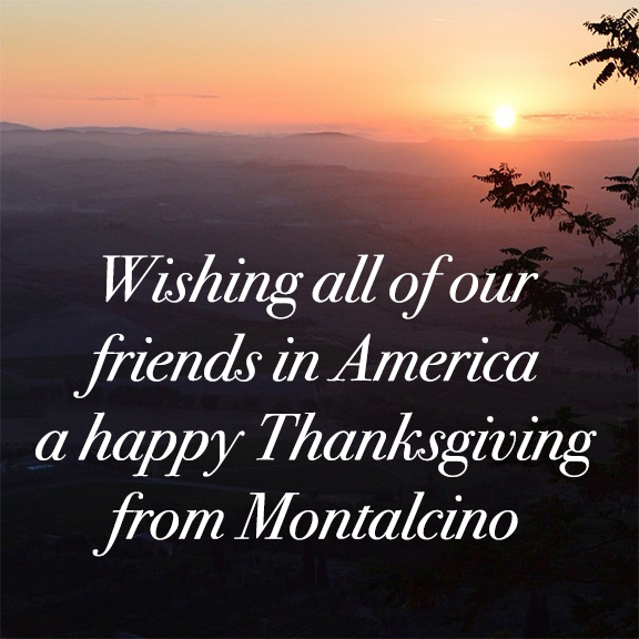 montalcino happy thanksgiving
