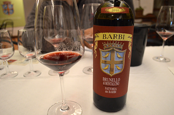 best 2010 brunello score