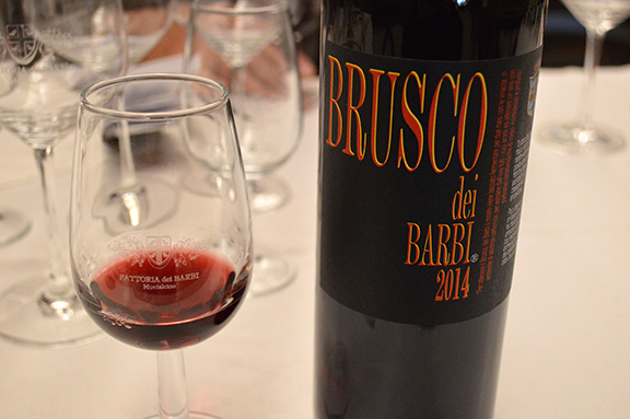 brusco barbi best tuscan wine