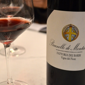 "Bibenda editors award ""5 Bunches"" for our 2013 Brunello Vigna del Fiore"