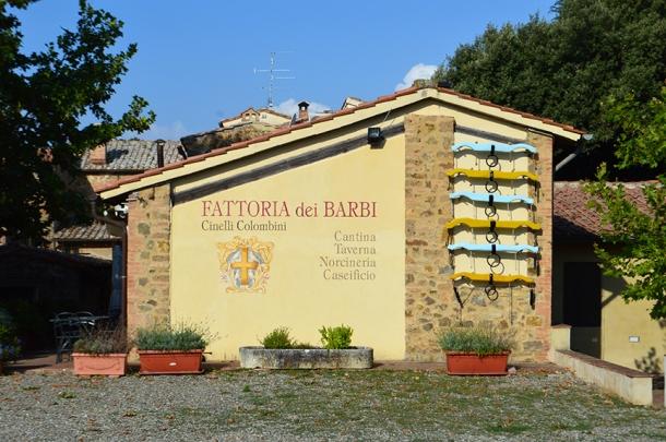 best food shop montalcino