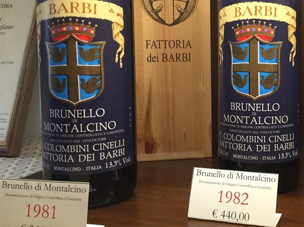 best vintages brunello montalcino