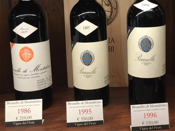 price 1982 brunello montalcino