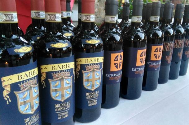 best wine tasting montalcino