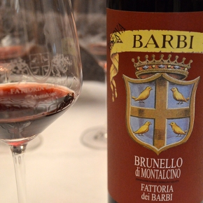 """A wall of sound"": Top Italian taster Emanuele Giannone on Barbi's 2006 Brunello Riserva"