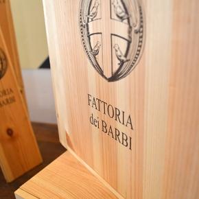 Fattoria dei Barbi's tasting room, wine shop, and winetours