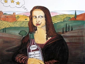 Wine tasting and the political cartoons of Emilio Giannelli thisweekend!