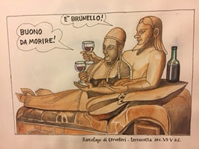 A great event with celebrated political cartoonist EmilioGiannelli!