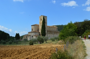 Heading to Montalcino this summer? Don't miss the Abbey of Sant'Antimo…