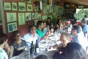 Brunello across the world: Barbi in Campinas, Brasil at La Campagna Ristorante