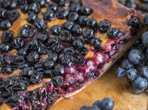 RECIPE: Grape Harvest Shortbread made with Sangiovese grapes from the 2017 vintage atBarbi.