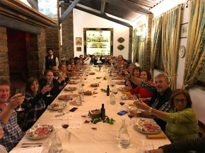 Taverna dei Barbi, the Fattoria dei Barbi's classic Tuscan restaurant, reopens TONIGHT February 15!