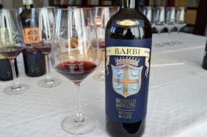 "Fattoria dei Barbi 2012 Brunello 91 points Vinous, ""an excellent showing"" (for your holiday consideration)"
