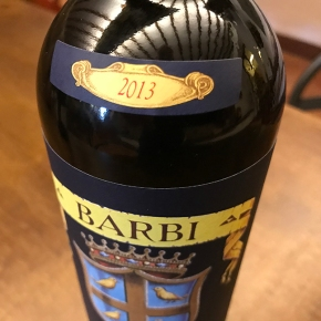 "Walter Speller (Jancis Robinson) on Barbi Brunello 2013: ""Mouth-filling fruit… with great acidity"""