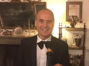 Stefano inducted into Italy's Society of Winemakers, the Italian wine industry's most prestigiousassociation.