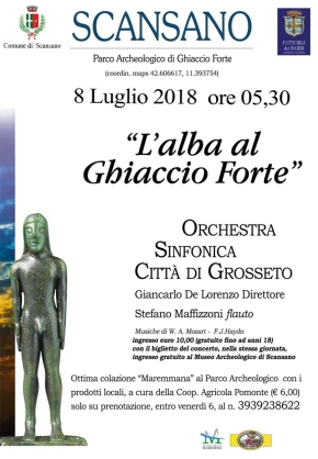 Barbi presents: Classical music at dawn in the Tuscan countryside (this Sunday)