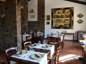 A classic Tuscan country menu at Taverna dei Barbi (on the grounds of Fattoria dei Barbi)