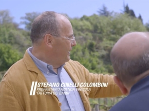 Stefano and Fattoria dei Barbi make an appearance on one of Italy's popular travel shows