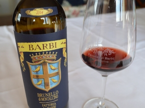"Monica Larner (Robert Parker): ""Great straight out of the gate,"" 92+ points for Barbi Brunello 2014"