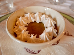 Caffè in Forchetta, a dessert popular across the world and first served at Fattoria dei Barbi