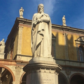 A Tuscan in Verona: Dante Alighieri (see you next week at Vinitaly)