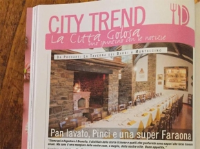 """Highly Recommended"": Taverna dei Barbi gets thumbs up from magazine Firenze Spettacolo"