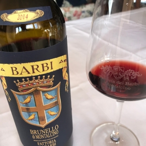 """""""Classy Brunello"""" with """"outstanding balance"""": 91 points for Barbi 2014 Brunello from Ian D'Agata(Vinous)"""