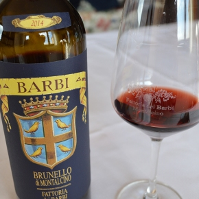 "This wine ""translates to grace."" A favorite Canadian writer on Barbi 2014 Brunello"