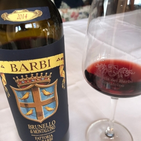 Suckling: 90 points for Barbi Brunello 2014