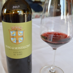 "Decanter: ""Highly recommended"" Barbi 2017 Rosso di Montalcino"