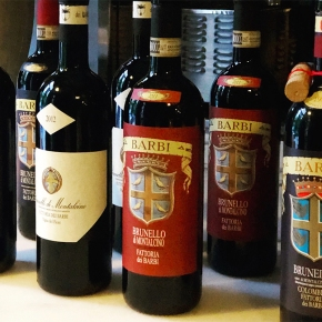 """A graceful symphony."" Leading American wine blogger Cara Rutherford shares tasting notes on 89, 82, 81, 75, 73 71 Barbi Brunello"