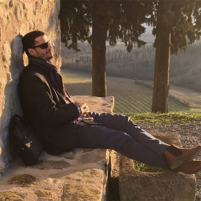 """A Montalcino education begins with this man, Stefano Cinelli Colombini at Fattoria Dei Barbi."""