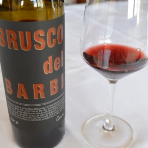 For your Thanksgiving consideration: Brusco dei Barbi